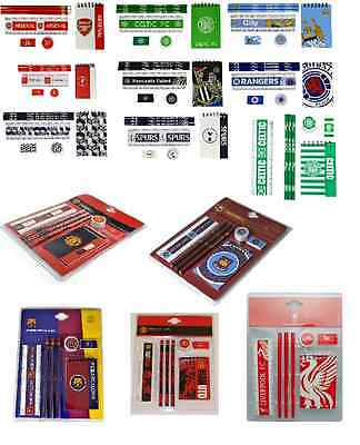 Official Football Club - 7 PC STARTER STATIONERY SET
