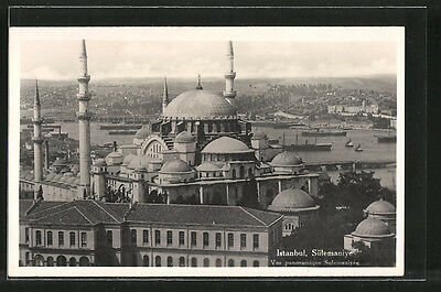 tolle AK Istanbul, Sülemaniye, Vue panoramique