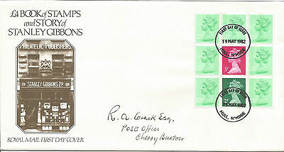 Gb Fdc 1982 Stanley Gibbons-£4.00 Booklet