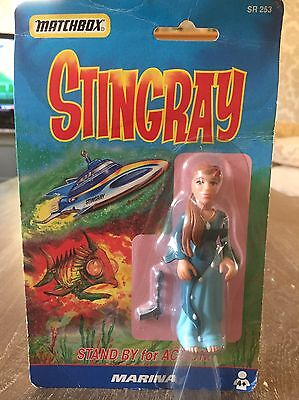 Stingray Gerry Anderson Matchbox Mint In Packet Marina Action Figure Xmas