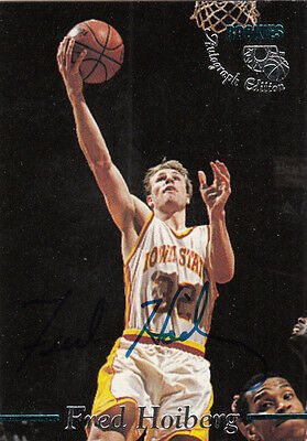 1995 Classic Rookies Fred Hoiberg Autograph