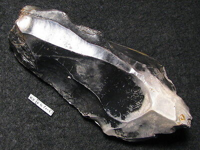 10000Y.O: GREAT POINTED AX 113mms DANISH STONE AGE MESOLITHIC MAGLEMOSE C FLINT