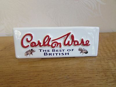 CARLTON WARE - Best of British - POINT OF SALE - Advertising PERFECT CONDITION