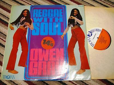 Reggae with Soul Owen Gray - LP -  Trojan TTL24