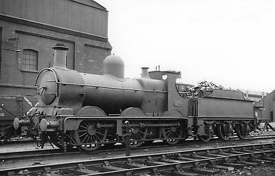"""Photo GWR """"2301"""" Class No 2439 seen here at Tyseley shed yard on 15/7/34"""