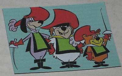 "Yippee Yappee & Yahooey Floppy Magnet  See Description 2.75"" x 2"" Hanna Barbera"