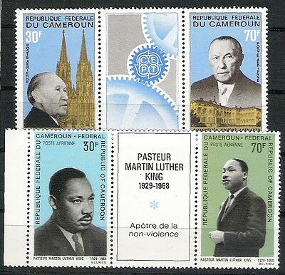 CAMEROUN CAMEROONS #11 Air Mail 2 tryptiques N**  MNH bonne côte
