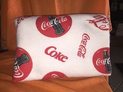 Coca Cola Blanket Great For Picnic Or Tailgating
