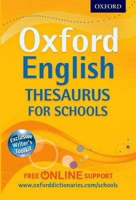 Oxford English Thesaurus for Schools (Paperback), Oxford Dictiona...