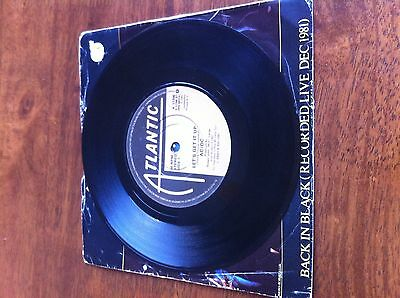 ACDC AC/DC - Let's Get It Up Vinyl Single 7 Inch
