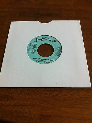 Charles Brown - Merry Christmas Baby / Please Come Home For Christmas Vinyl