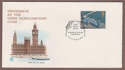 UK # 753 , 62nd Inter-Parliamentary Conference FDC - I Combine S/H