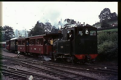 35Mm Colour Slide Preserved Narrow Gauge Steam Loco  No.1 The Earl On Train