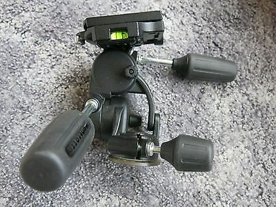 Manfrotto 808RC4 3-Way Pan/Tilt Head BOXED VGC