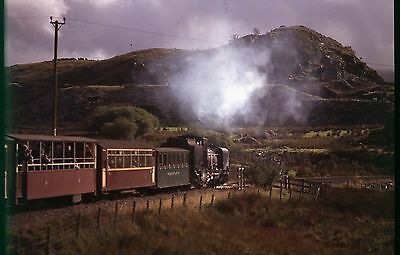 35Mm Colour Slide Preserved Narrow Gauge Steam Loco No.37 Welsh Highland Rail Aa