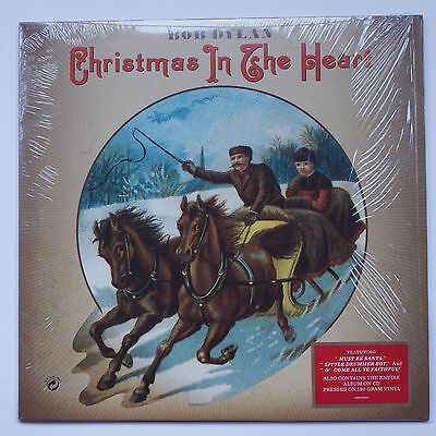 Bob Dylan Christmas in the Heart Vinyl LP Record with CD