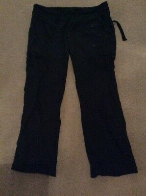 black cargo trousers size 16. new look