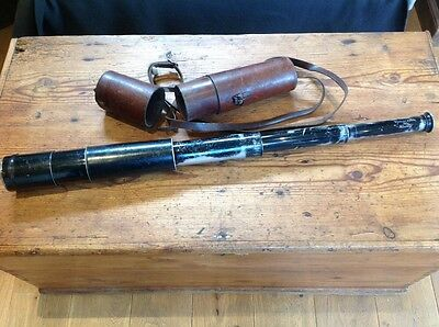 Voitlanger And Sohn Boar War And WW1 Telescope Excellent Working Condition