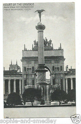 1915 Pan Pacific Expo PPIE RPPC Postcard - Court of the Universe