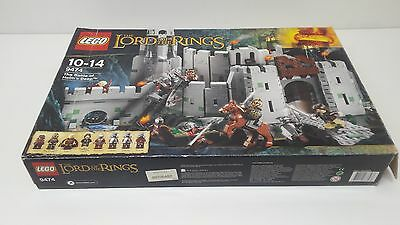 LEGO LOTR 9474 battle of helms deep complete with all figures wow l@@k