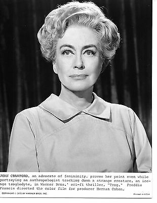 Vintage Movie Still / Photograph ~ Joan Crawford No. 80 ~ Trog, 1970
