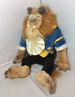 Large Disney Store Exclusive Beauty And The Beast Soft Toy Plush