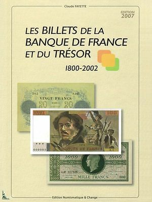 French Treasury & Banknotes 1800 to 2002 Billets France