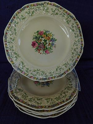 Crown Ducal Florentine Ferncroft LUNCHEON PLATE (s) multiples