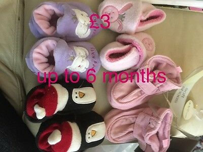 Baby Slippers Up To 6 Months