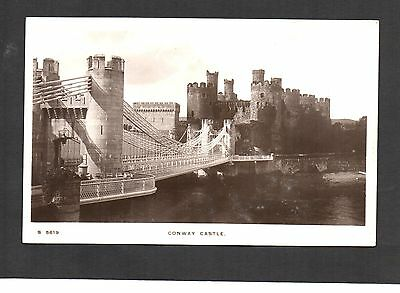Conway Castle. Kingsway Series Real Photo Postcard. Unposted