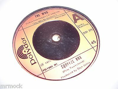 "THE WHO- SQUEEZE BOX 7"" VINYL 45RPM p"