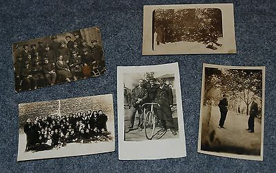 Lot of vintage military postcards photos of Russian soldiers army military