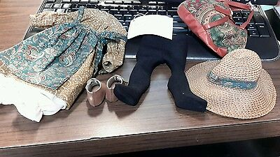 Madame Alexander Anne of Green Gables outfit  14 Inches / Clothing, Bag , & tag