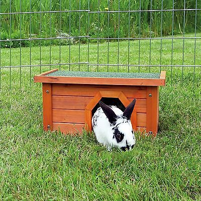 NEW Trixie Wooden Outdoor House - Rabbit Guinea Pig - Run Shelter House 62395