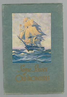 Some Stories Of Old Ironsides--1931 Uss Constitution Book With Relief Card