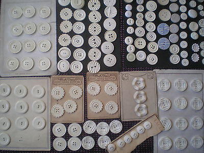 Large Assorted Lot Of Vintage Buttons