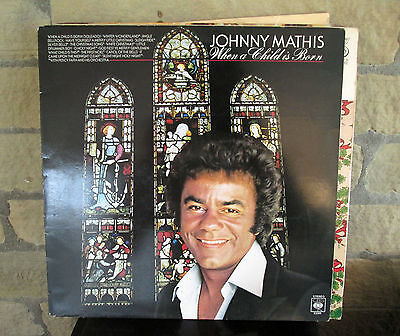 Johnny Mathis When A Child Is Born - Vinyl LP