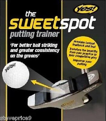 Yes Golf Sweetspot Putting Trainer Practice Device.