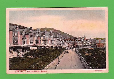 Dated 1906, Deganwy from the Railway Station, Conwy , North Wales.