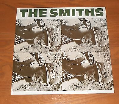 The Smiths Meat is Murder Poster Flat Square 1985 Original Promo 12x12 RARE