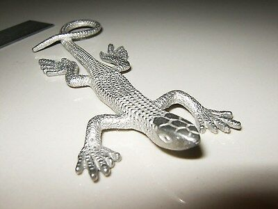 CAST aluminum real skink anole lizard gecko reptile lifelike/size even weight!