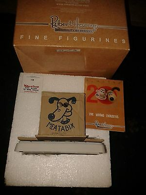 Wallace & Gromit WG11 Meatabix The Wrong Trousers Ltd Edition Figurine  £35 !!!!