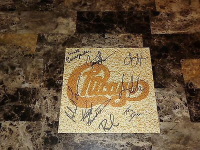 Chicago Rare Authentic Band Hand Signed Promo Poster Jazz Autographed 8 Sigs !!!
