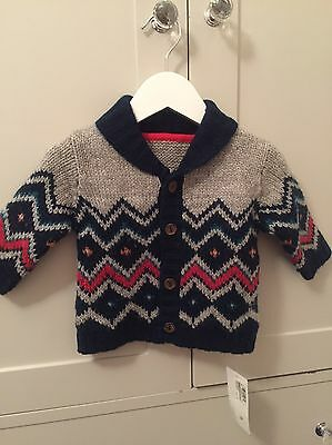M&S Chunky Knit Cardigan (3-6 months)