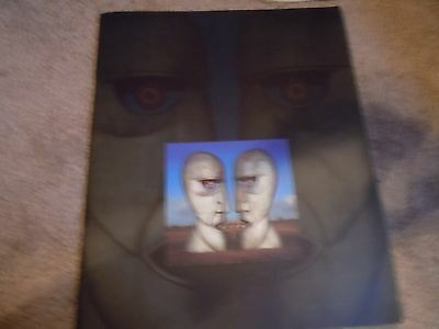 PINK FLOYD 1994 WORLD TOUR CONCERT PROGRAM BOOK DIVISION BELL With ticket stub