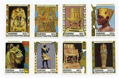 Central African Republic #349-56 MNH 40f to 250f #294