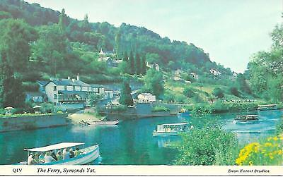 Symonds Yat Ferry, Herefordshire - Unposted Postcard