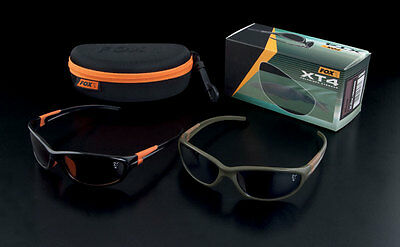 FOX XT4 Polarized Sunglasses Carp Fishing - All Models - With Carry Case