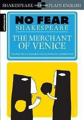 NEW The Merchant of Venice By  SparkNotes Paperback Free Shipping