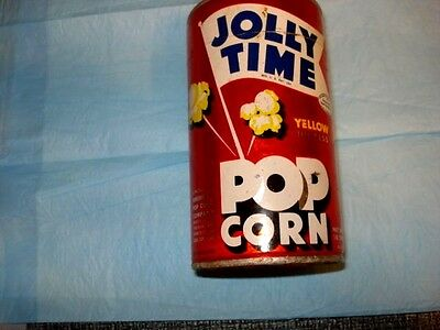 Vintage Jolly Time Pop Corn In Unopened Package.